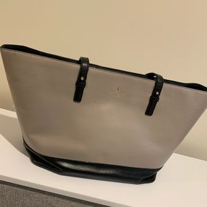 Kate Spade black and beige tote
